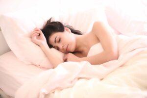 Woman Sleeping - Fight Insomnia